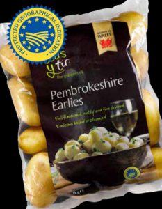 Pembrokeshire Earlies PGI
