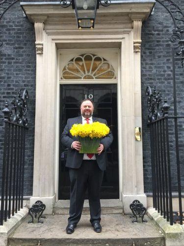 Huw Thomas at No.10 Downing Street