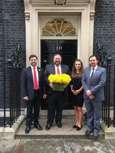 Downing Street, St. Davids Day 2017