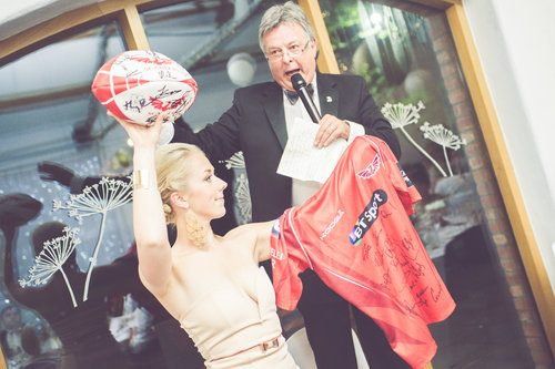 Auction Prizes at the Blas y Tir Ball