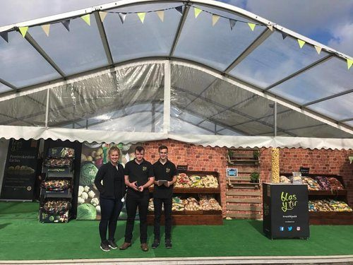 Puffin Produce County Show Stand