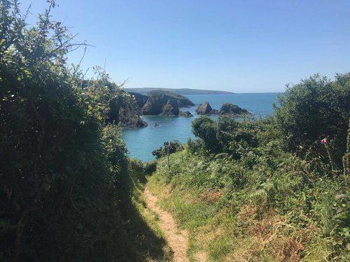 Pembrokeshire Coastline in Summer