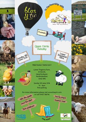 Open Farm Sunday Poster