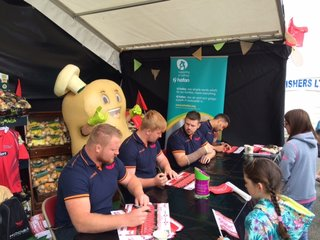 Scarlets at Pembrokeshire County Show