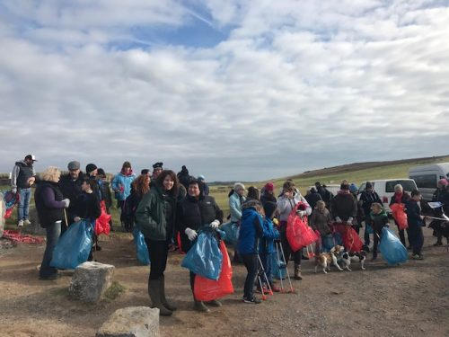 Freshwater West Beach Clean 2018