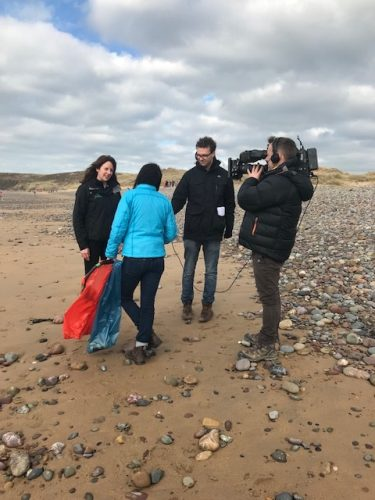Lucy Owen Freshwater West Beach Clean 2018