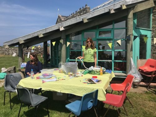 Sustainability Station at Open Farm Sunday 2018 in Pembrokeshire