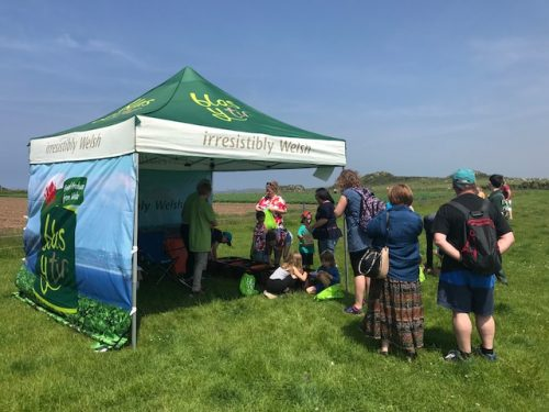 The Blas y Tir Treasure Trail at Open Farm Sunday 2018 in Pembrokeshire