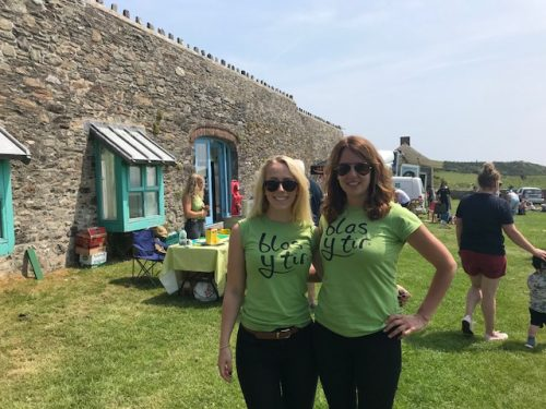 The Blas y Tir Team at Open Farm Sunday 2018 in Pembrokeshire
