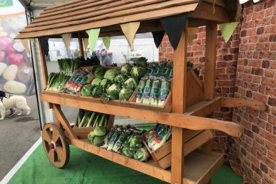 Vegetable Cart at the Pembrokeshire County Show