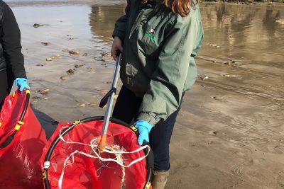 All Wales Beach Clean Rubbish 2018